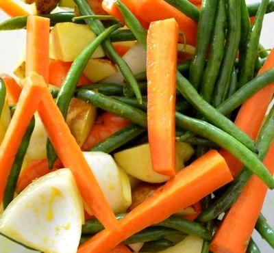 Garnitura de legume la cuptor
