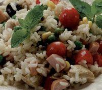 Salata de orez cu masline