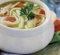 Supa de curcan cu taitei