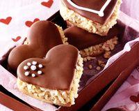 Inimioare cu ciocolata si miere