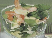 Salata de fructe de mare cu avocado