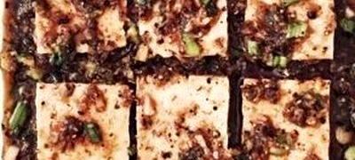 Platou dulce-picant cu tofu