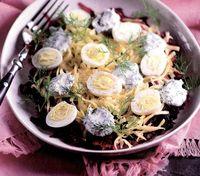 Salata de sfecla cu oua
