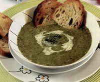 Supa crema de salata cu unt