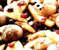 Cartofi cu ceapa si dulceata
