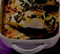 Peste (salau) cu legume sote