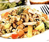Rizotto cu pui si legume