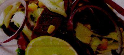 Salata cu pulpa de vitel