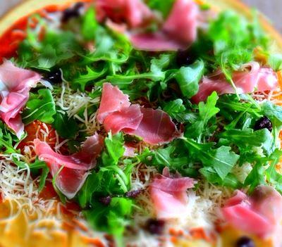 Pizza cu blat fara gluten