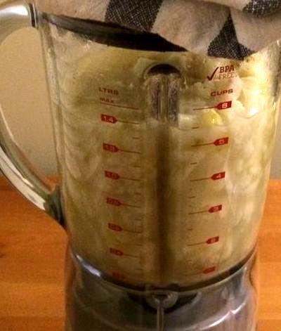 Supa crema picanta de conopida