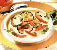 Supa cu vinete si rosii