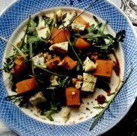 Salata cu dovleac copt