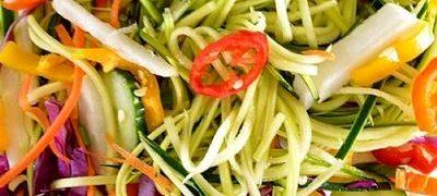 Salata de cruditati cu branza