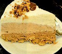 Tort de inghetata cu crema de alune