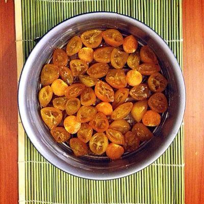 Prajitura cu kumquat