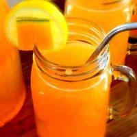 Limonada cu pepene galben