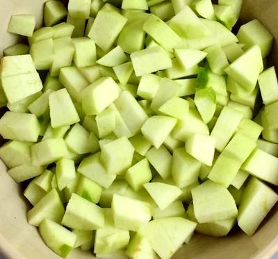 Prajitura cu mere si ovaz