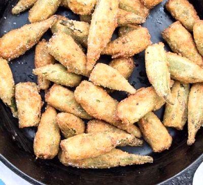 Bame picante prajite