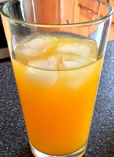 Suc de portocale coapte