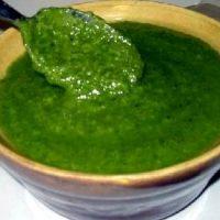 Pesto cu suc de lamaie