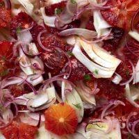 Salata de fenicul cu ceapa marinata