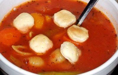 Supa de legume cu tarhon