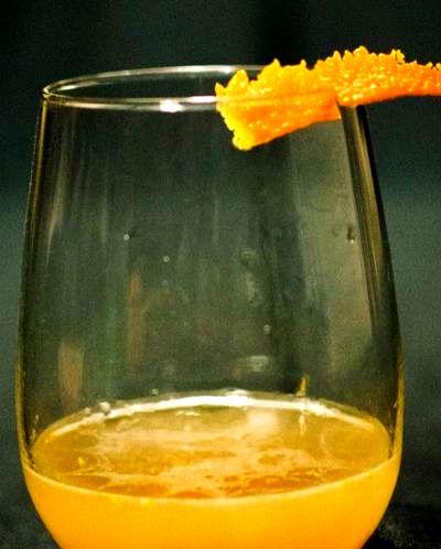 Cocktail cu tequilla si aroma de portocala