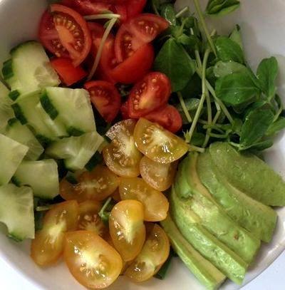 Salata de cruditati cu rodie