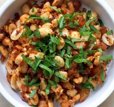 Salata de legume cu dressing picant de creveti