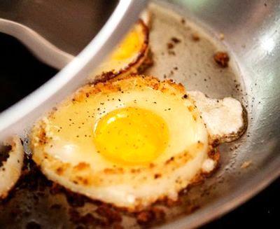Inele de ceapa cu oua