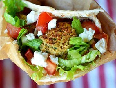 Shaorma cu falafel