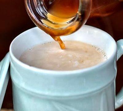 Ceai aromat cu lapte