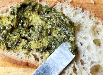Sandwich cald cu masline