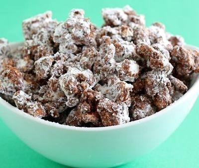 Popcorn cu ciocolata si vanilie