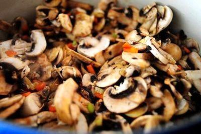 Supa de ciuperci cu legume