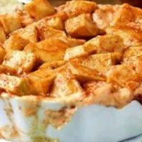 Placinta cu mere si crema