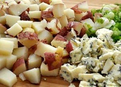 Salata de cartofi cu gorgonzola