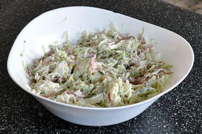 Salata de orez cu varza