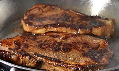 Friptura de porc cu sos de soia