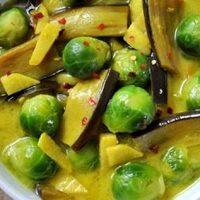 Supa cu varza de bruxelles