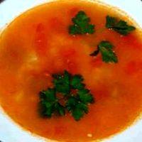 Supa de vitel cu rosii