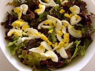 Salata de pui cu crutoane