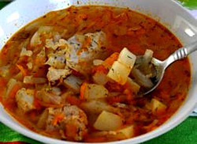 Supa de vita cu varza