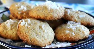 Fursecuri cu cocos si vanilie