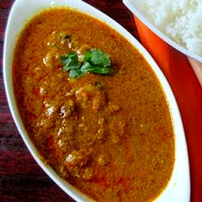 Curry de creveti