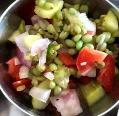 Salata de legume cu lamaie